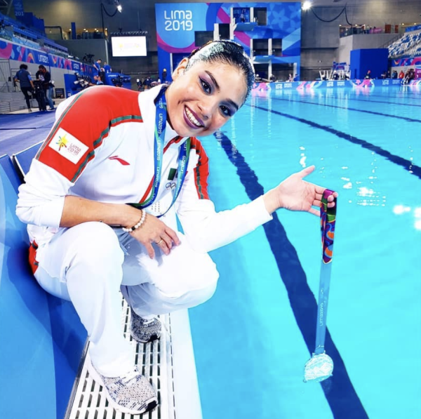 Teresa Alonso from Mexico at the 2019 Pan American Games